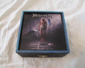 Megadeth Countdown To Extinction Keepsake Thrash Metal Music Trinket Box