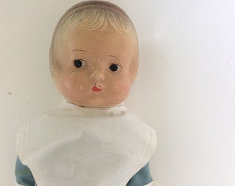 Antique composition Doll Amish Girl
