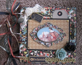 Enchanted Forest Mini Album - Graphic 45 - Chipboard