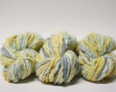 Handspun Thick and Thin Prefelted Yarn **Special** Hand Dyed Merino Slub tts (tm) miniLR1602