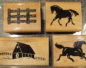 Stamp Set S473 HORSE PLAY - CTMH - Retired