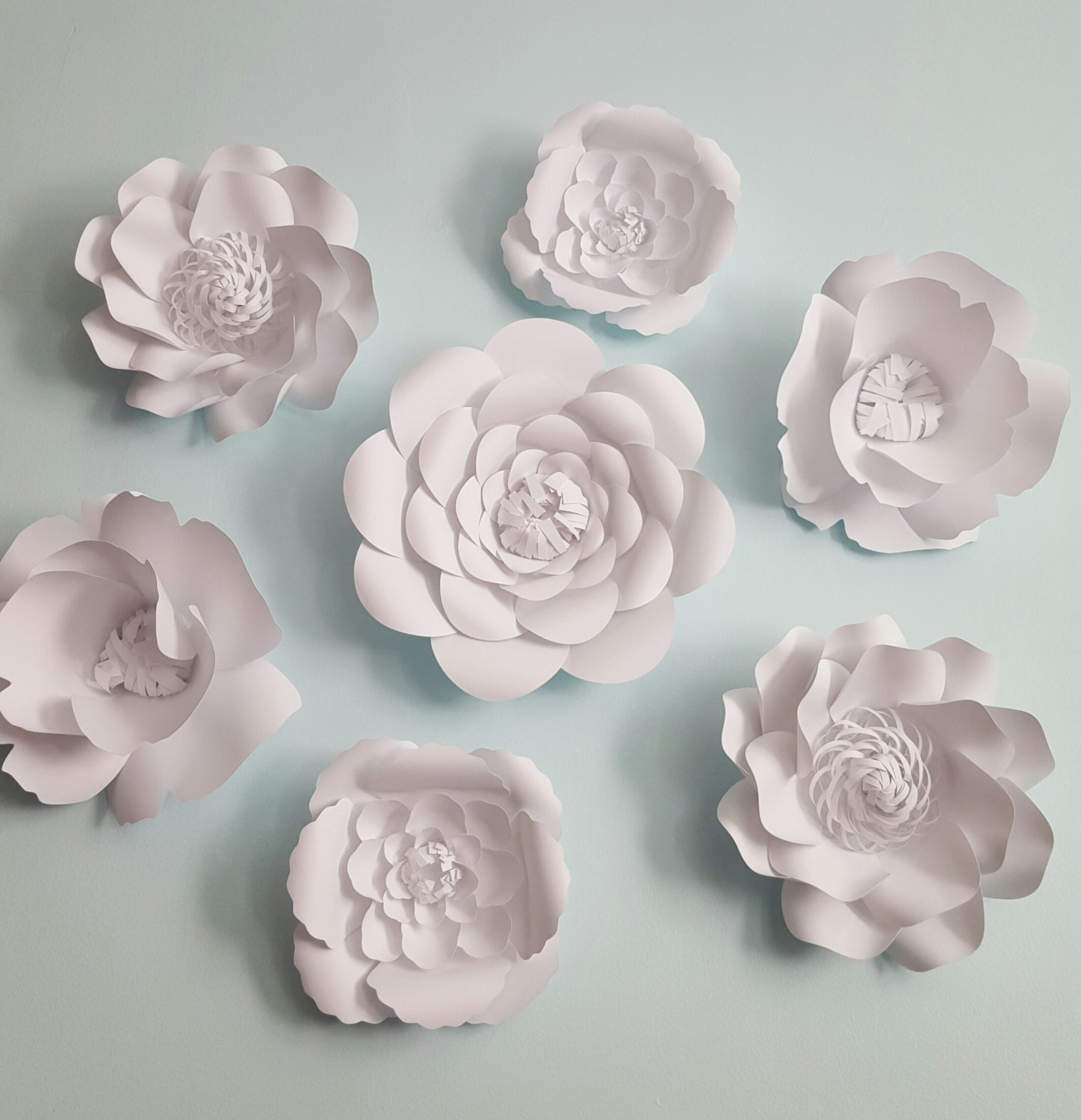 Large paper flowers extra large flowers 7 flowers wedding zoom dhlflorist Choice Image