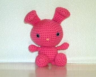 Sweet Bunny - Perfect Pink Crochet Bunny