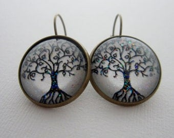 Tree of Life  Spirit Star Girl Earrings