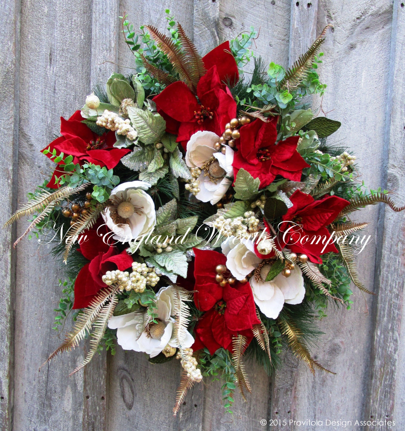 christmas wreath holiday wreath designer christmas