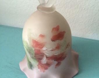 Fenton Bell Peach Floral