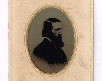 Tintype of a Handsome Man, circa 1860s, Jeremiah Taylor