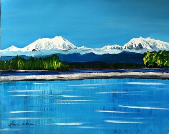 Made to order landscape painting on canvas