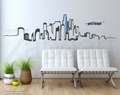 Los Angeles Skyline Wall Vinyl Decal