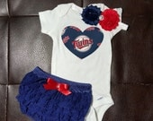 Boutique Minnesota Twins Set