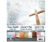 LIVE by FAITH 12x12 Paper Pad - 24 Double-Sided Papers