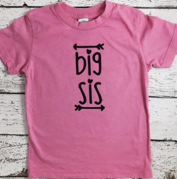 Big sister shirt big sis shirt baby announcement shirt for Big sister birth announcement shirts