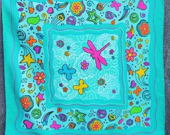Little Brownie Butterflies Bandana / Scarf / Hanky