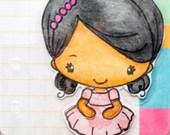 Lexi....Planner Doll...Filofax pocket and Filofax personal