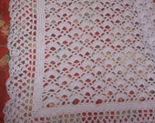 Crocheted Lilac Baby Afghan (bk116)
