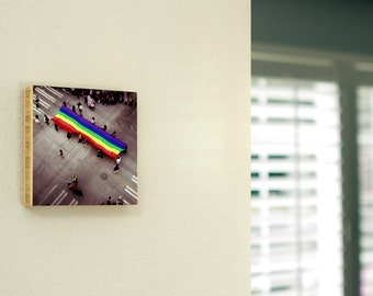 Pride,Parade, Seattle,PrideFlag,