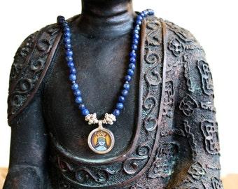 KRISHNA & Lapis Lazuli necklace