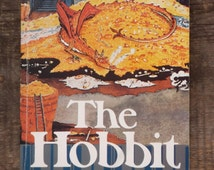The Hobbit by J. R. R. Tolkien vintage 1970s paperback book