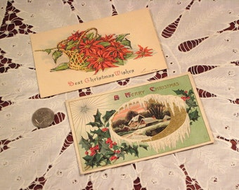 Antique Postcards Christmas (2)