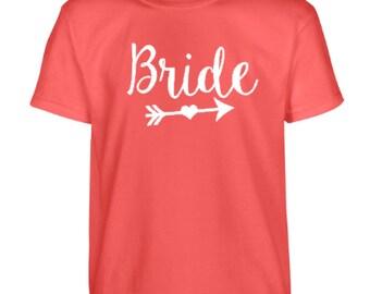 Preppy Bride T-shirt Bride Tribe T-Shirt