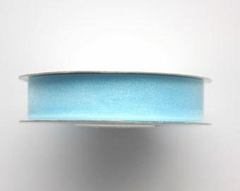 """5/8"""" Organza Ribbon - Light Blue - 25 yard Spool"""