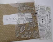 Acrylic Stamp Set - Close to My Heart #D1308 - All Decked Out