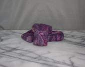 CLEARANCE: Lavender Lemon Sage Hand Felted Natural Bar Soap with Essential Oils, Merino Wool