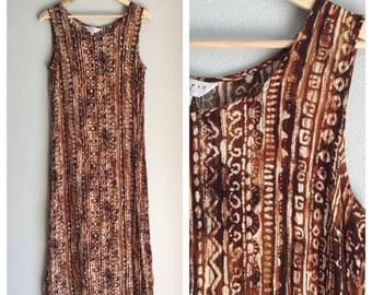 Gauze maxi dress size medium