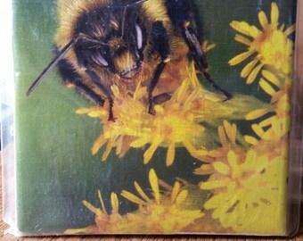 Buzz! Honeybee picture tile