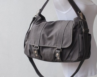 Mother's Day SALE 30% Off + Mysterious Gift - Pico2 in Dark Grey (Water Resistant) Laptop / School Bag / Shoulder Bag / Messenger Bag