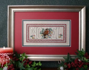 Sweetheart Tree Noel Partridge Sampler Counted Cross Stitch Kit