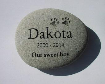 Pet Memorial Stones, Cat Memorial Stone, Dog Memorial, Custom Pet Grave Marker
