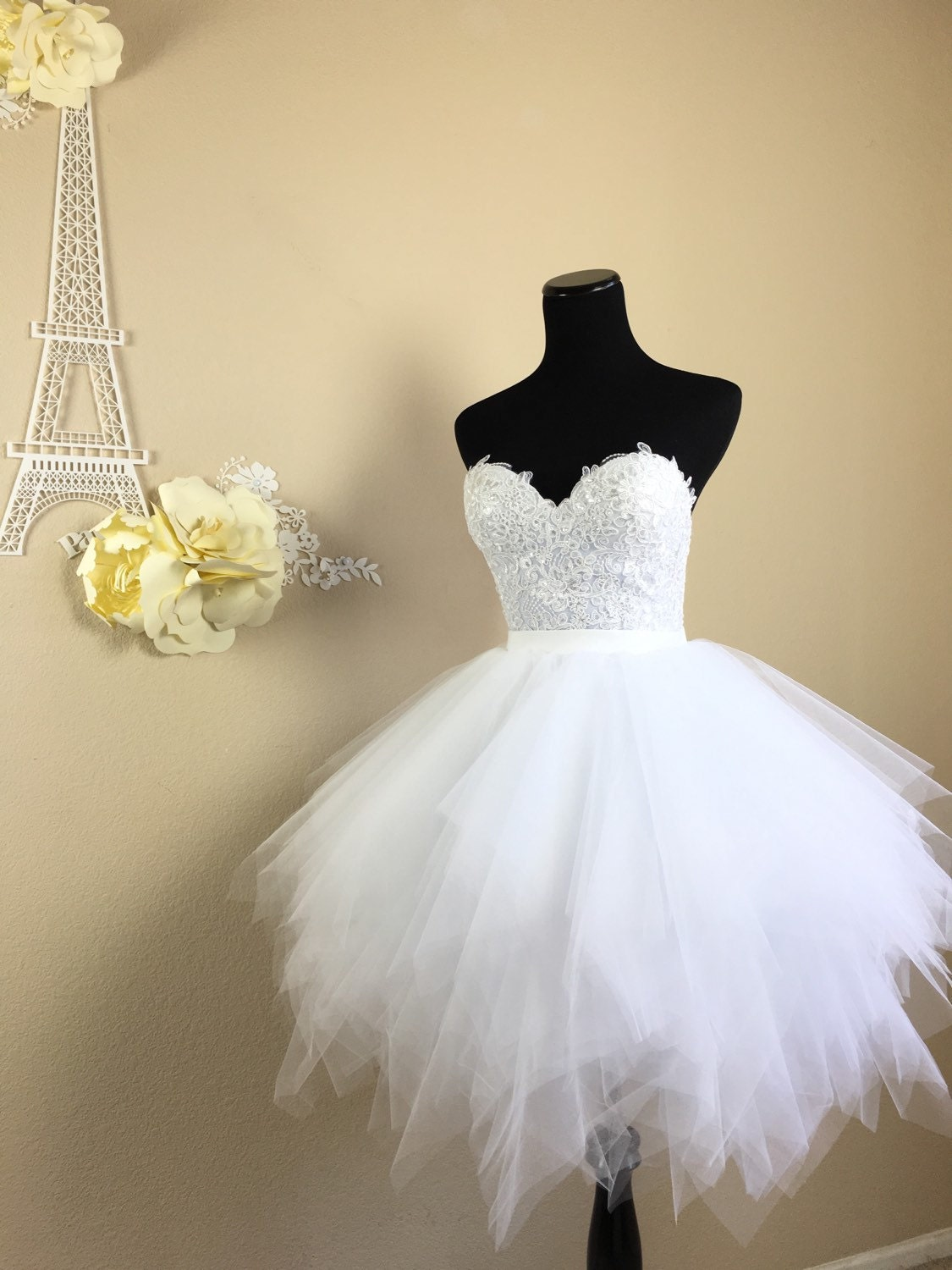 Extra full tulle skirt bridal separates wedding dress tulle for Tulle skirt wedding dresses