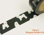 ON SALE - Bichon frise - Japanese Washi Masking Tape - Daily Like - 11 Yard