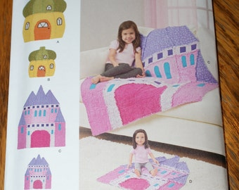 New Simplicity Childs Rag Quilt pattern 8033