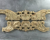 Wooden ornate architectural pieces home decor top a frame add some drama carved wood ornamental vintage pieces