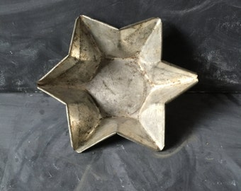 Vintage metal star mold storage vessel kitchen decor shade for a pendant light be creative vintage star candle holder store your goods