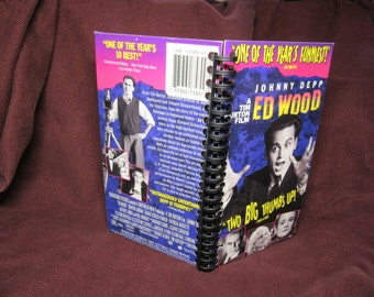 Ed Wood VHS Tape Box Notebook