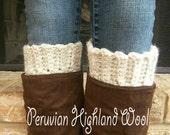 Boot Socks Boot Socks Wool Boot Socks Womens Boot Socks Womans Wool Boot Cuffs Womens Boots Wool Sock Crochet Boot Socks Wool Boot Sock Cuff