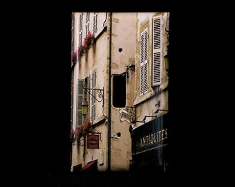 Single Switchplate Cover - Shutters and Shops in Beaune