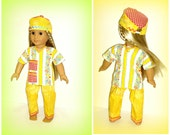 Paging Nurse Julie!  Medical Scrubs Outfit, Handmade 18 inch Doll Clothes fits Soft Body dolls such as American Girl
