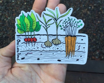 Veggie Garden Sticker