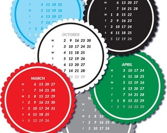 2017 Calendar  Tags
