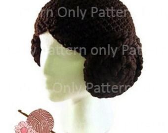 Sci-Fi Princess Hat Pattern - Pattern Only