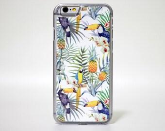 Clear iPhone 6 case iPhone 6s case iPhone cover iPhone Skin Bird- HTPCW6014