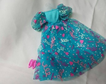 Barbie Celebration   Gown and shoes Barbie fashion Outfit 11 inch dolls