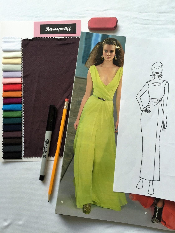 Design Your Own Custom Dress Custom Wedding Dress Sketch