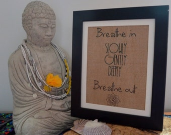 Breathe Out Etsy
