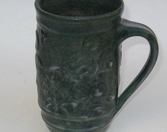 Turtle and Lily pad coffee mug