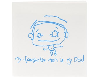 My Favourite Man is My Dad Card